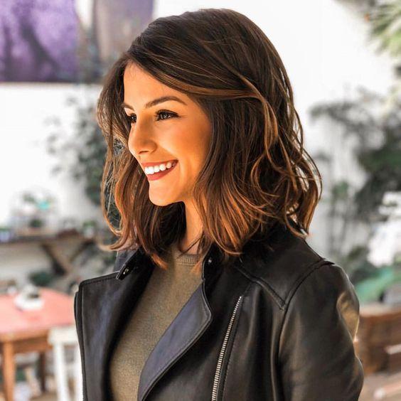 Orta Boy Saç Modelleri 2019